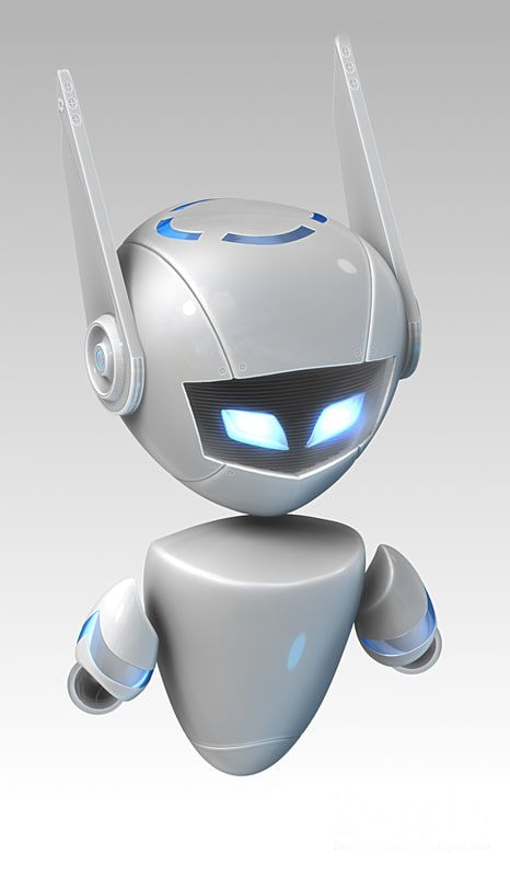 Robot Model available on Turbo Squid, the world's leading provider of digital models for visualization, films, television, and games.
