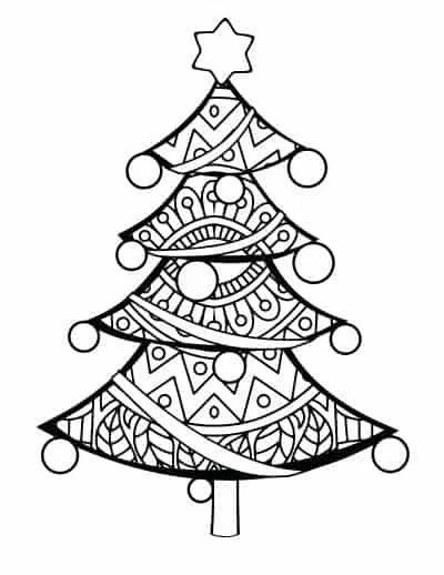 Free Printable Christmas Tree Coloring Pages Printable Christmas Coloring Pages Christmas Tree Coloring Page Christmas Coloring Printables