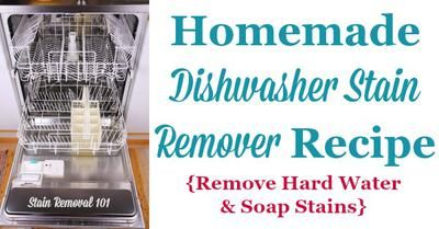 cc3de3bc97e0787453ffe55eace7ad52 - How To Get Rid Of Hard Water Stains In Dishwasher