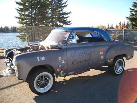 VINTAGE 1951 CHEVY BELAIR 2DR COUPE CUSTOM GASSER - on UsedCalgary.com