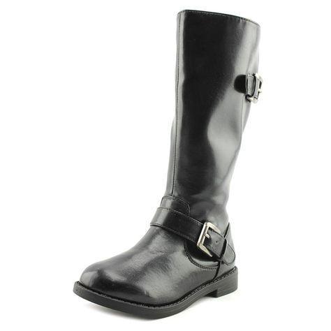 VECJUNIA Girls Glitter Winter Boots Bows Zipper Warm Ankle High Shoes