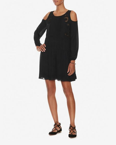 Thakoon Addition Cold Shoulder Mini Dress | Shop IntermixOnline.com