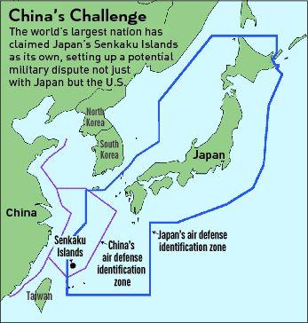China Base On Nanji Island Threatens Japans Senkakus  Senkaku