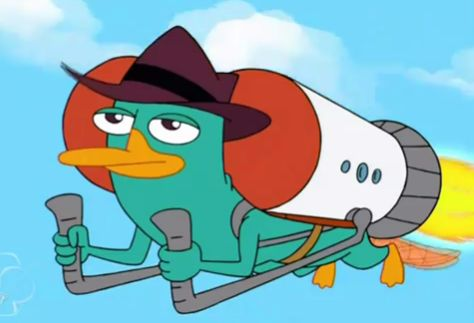Perry flying a jetpack agent p stuff pinterest voltagebd