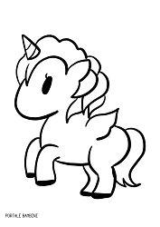 Disegni Di Unicorni Da Colorare Designzip Info