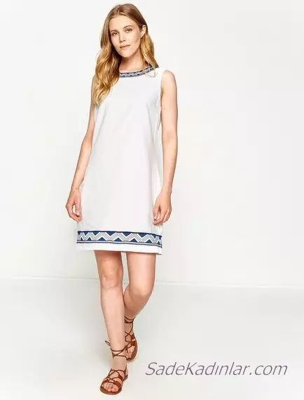 Koton Beyaz Elbise Modelleri Ile Bas Dondurucu Siklik 2020 Elbise Modelleri Elbise Yazlik Kiyafetler
