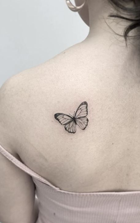 Butterfly Tattoo Meaning Plus Stunning Tattoo Designs Ideas Butterfly Tattoo Collar Bone Tattoo Tattoos