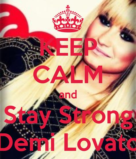 Demi Lovato Staying Strong Pdf