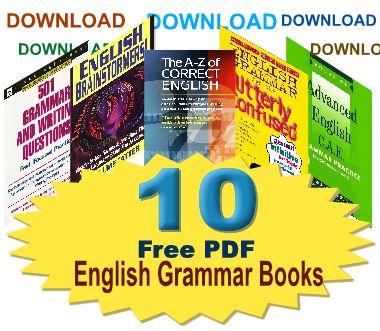 Download 10 Free Pdf English Grammar Books Series 1 Download 10