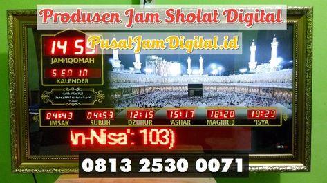 Jam Sholat Digital Di Penukal Abab Lematang Ilir Wa 0813 2530 0071