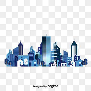 Material De Vector De Skyline De Pintados A Mao Cidade Clipart Contorno Cidade Imagem Png E Vetor Para Download Gratuito In 2021 City Silhouette City Vector Building Illustration