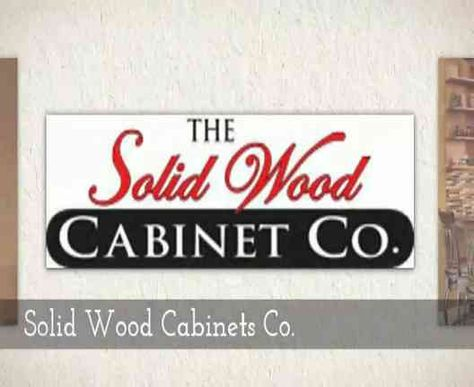 The Solid Wood Cabinet Company is a fully stocked warehouse ...