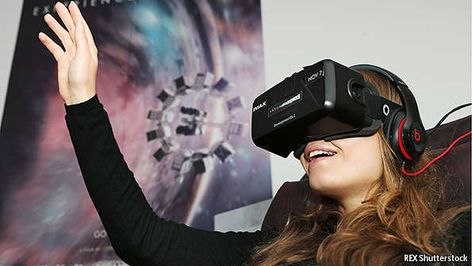 If Facebook, Sony and HTC have their way, next year's most coveted consumer technology product will not be a smartphone or a giant, paper-thin flatscreen TV. It will be Virtual! #VR the #hacker of the human sensory system. Are #HMD ready to do magic? How #virtualreality works. via @TheEconomist