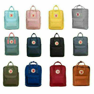 New Waterproof 7L//16L//20L Backpack Fjallraven Kanken Grey Sport Handbag Rucksack