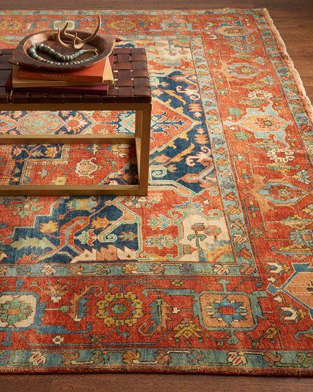 Exquisite Rugs Maida Serapi Rug 12 X 15 In 2020 Serapi Rug Exquisite Rugs Floor Rugs