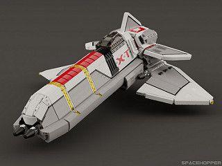 Phantom Xt Vaisseau Spatial Lego Vaisseau Spacial