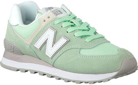 Groene NEW BALANCE Sneakers WL574 - New balance, Groen en ...