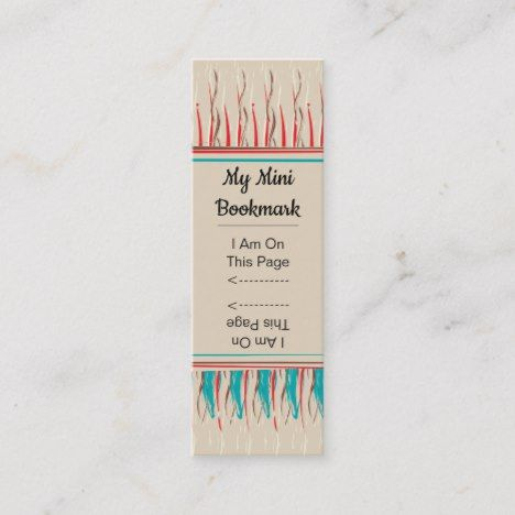 Feathery Paint Stroke Pattern Mini Page Marker Mini Business Card Zazzle Com Mini Business Card Page Marker Old Paper Background