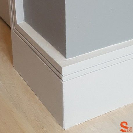 Grooved Skirting Boards Square Grove 2 Mdf Skirting Skirting Boards Mdf Skirting Stairs Skirting