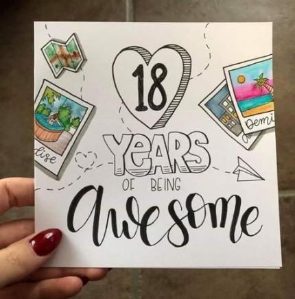 Best Birthday Crafts 18th Ideas Birthday Cards For Friends