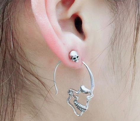 An intimidating pair of skull earrings — a bone-afide great gift for any edgy pal. 29 Quirky Gifts For Your Most Interesting Friends