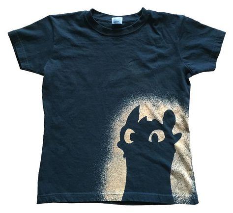 Ohnezahn Girlie-shirt Toothless Drachenzähmen Hicks von Microtexx