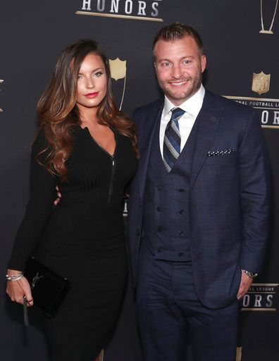 Nfl Honors 2018 Best Moments From Red Carpet And Awards Show Veronika Khomyn Sean Mcvay La Rams Coach
