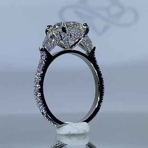 #foreverdiamonds #foreverdiamondsny #handcrafted #diamondring #diamond #diamonds #engaged #engagementrings #customrings #customengagementrings #enagementinspo #engagementinspiration #unique #uniquerings #uniqueengagementrings #engagementring #ringinspo #ringinspiration #sparkly #ring #diamondrings #custom #customdiamondrings #fdny #wedding #weddingrings #accessories #jewelry #womensjewelry #diamondband #halo #hiddenhalo #hiddenhalodiamondring #3stoneenagagementrings #diamondprongs #roundring