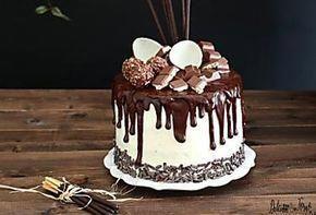 Drip cake tutorial italiano e video ricetta - Ganache Drip cake al cioccolato #dripcakeideas