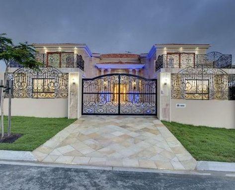 Simple Minimalist Yet Charming House Fence Design Ideas Dengan