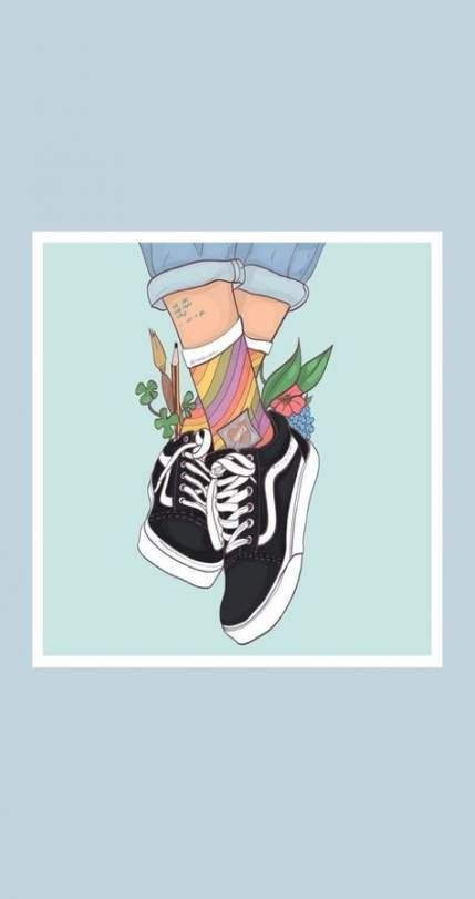 Pin By Clarissa On Vans Wallpaper Iphone Cute Aesthetic