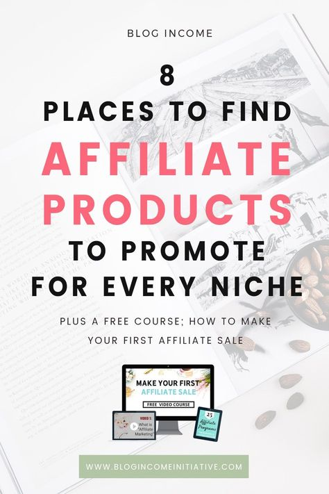 Affiliate Marketing is my most profitable source of Blogging Income. And it's possible for New Bloggers to earn from Affiliate Marketing too. But where do you find Brands and Products to promote? Keep reading for 8 Affiliate Programs and Networks for New Bloggers to join... How to promote your blog #blogger #blogging blogging for beginners money Onud  Utydez  Olajur