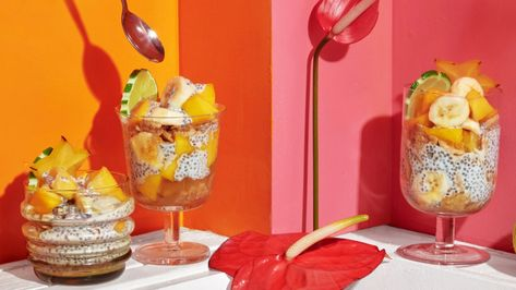 Tropical Trifle With Coconut and Rum Recipe