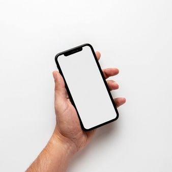 Mock Up Hand Holding Phone Hand Holding Phone Mockup Phone