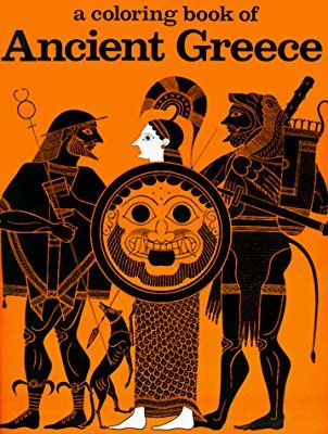 A Coloring Book Of Ancient Greece Bellerophon Books Nancy Conkle 9780883880005 Amazon Com Books Coloring Books Art History Lessons Ancient Greece