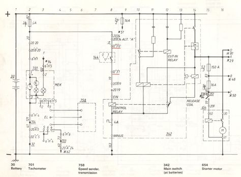Volvo Service Manual Section 3 37 Component Wiring Diagram Chassis Number 503 Through To 4853 Volvo Diagram Manual
