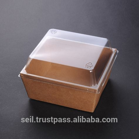 Food Grade Paper Box Takeout Takeaway Container Disposable Food Packaging Sandwich Box Ide Kemasan Desain Kemasan Kemasan