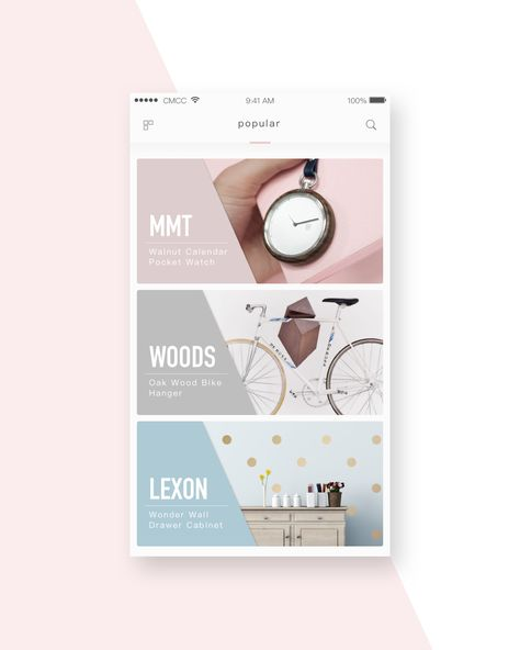pink&blue – User interface by Bikki