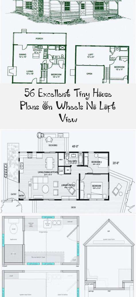 Tiny House Plans No Loft Inspirational Tiny House Wheels Floor Plans With No Loft Luxury Small In 2020 Tiny House Plans Small House Open Floor Plan House Plans