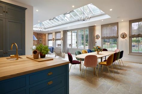 Open Plan Room Built Within An Orangery Westbury Garden Rooms