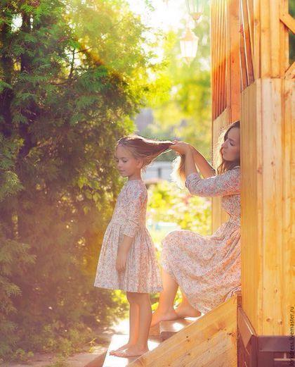 517ef87271c Dresses for mother and daughter   Платья ручной работы. Ярмарка Мастеров - ручная  работа. Купить Платья для мамы и дочки. Handmade.