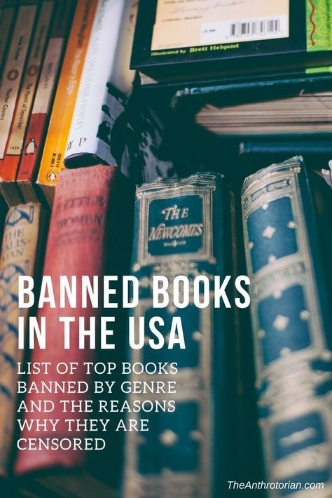 Banned Books In The Usa Banned Books List History Of Banned Books Books Banned In America Best Banned Books Banned Books Books To Read Nonfiction Books