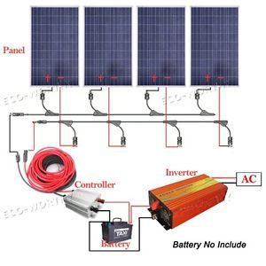 200w 300w 400w 800w Off Grid System 100w Solar Panel W 1kw 1500w 3000w Inverter Best Solar Panels Solar Panels Solar Panel System