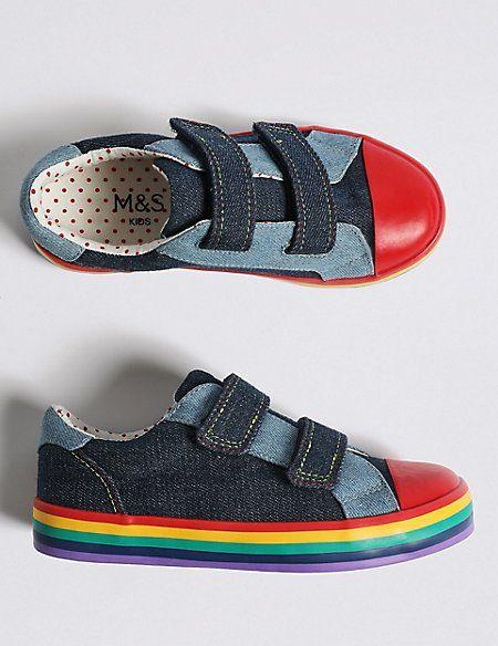 Kids' Rainbow Fashion Trainers (5 Small