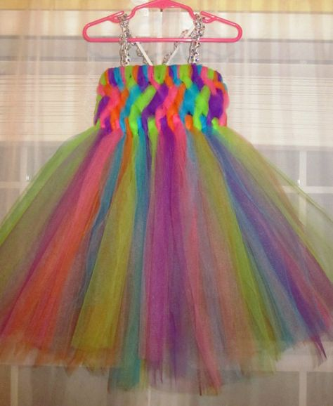 Rainbow fairy princess. Cute idea for Halloween