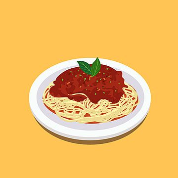 Pasta Italian Food Illustration Pasta Food Illustration Png And Vector With Transparent Background For Free Download Food Illustrations Italian Recipes Tomatoes Dinner