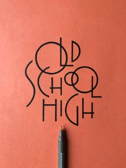 Creating hand lettering with 8 easy steps is a comprehensive step-by-step lettering process written by the talented Chandan. Learn how to create lettering! Creative Typography, Vintage Typography, Typography Quotes, Typography Letters, Typography Poster, Graphic Design Typography, Modern Typography, Calligraphy Letters, Hand Lettering Fonts