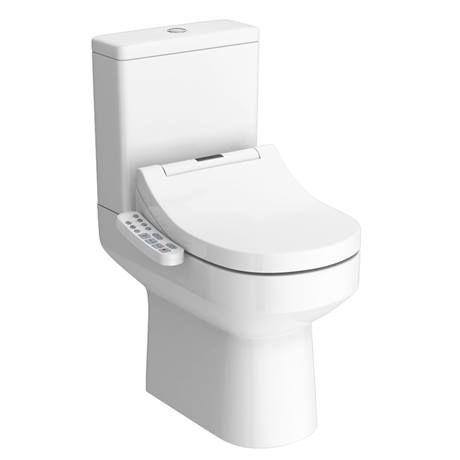 Metro Smart Toilet With Bidet Wash Function Heated Seat Dryer Victorian Plumbing Uk Smart Toilet Bidet Wash Bidet
