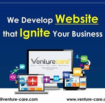 Venture Care Is A Top Web Designing Development Company In Pune India We Create Your Most Attractive Business Website Design Then De With Images Website Design Services