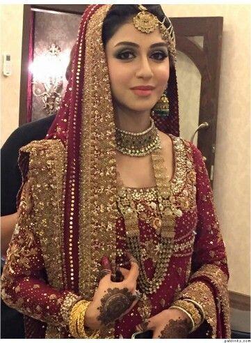 Pakistani bridal look
